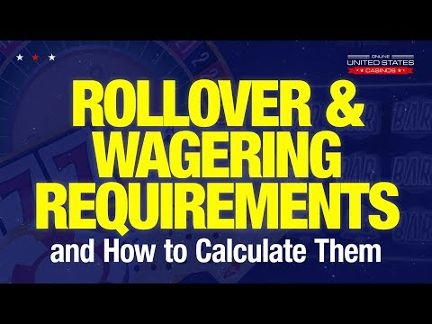 Lowest Wagering Requirements - 26715