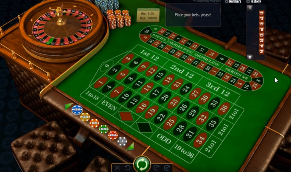 Play French Roulette - 70263