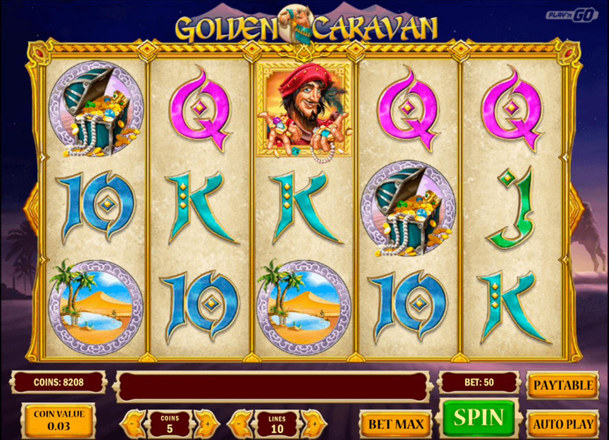 Golden Caravan Slot - 35181