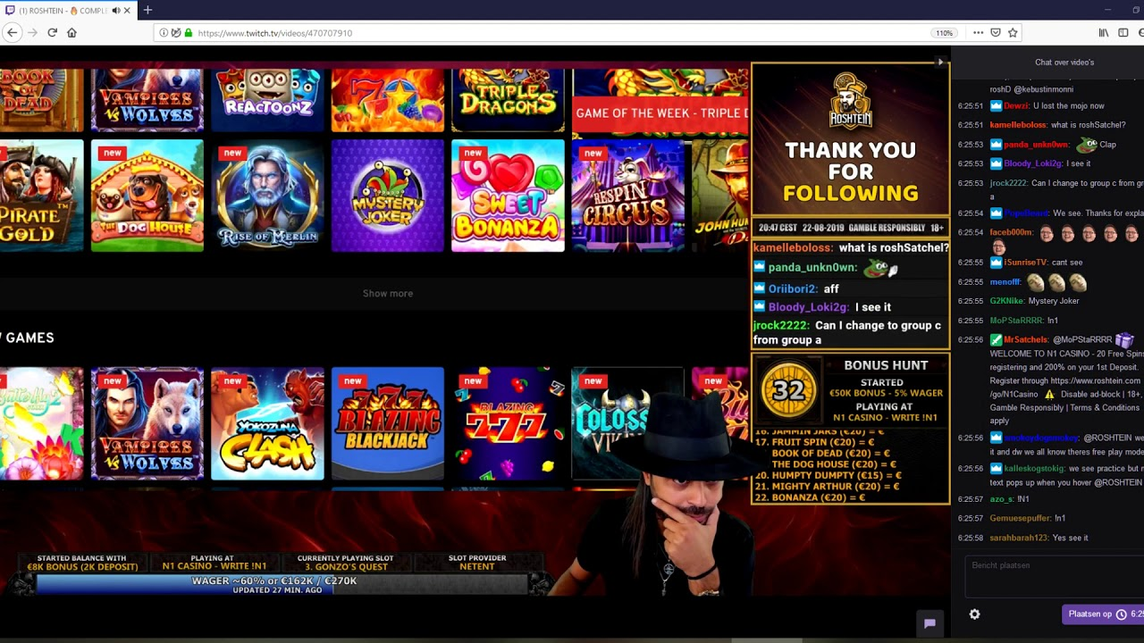 Biggest Casino Streamers - 74661