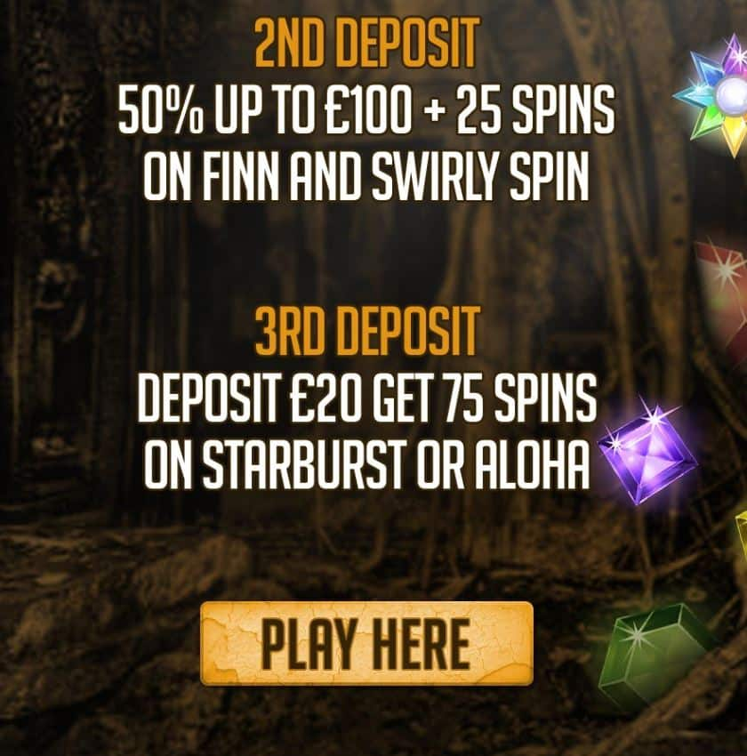 50 Free Spins - 66030