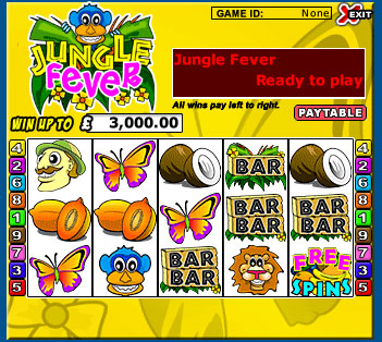 Jungle Games Slot - 40474