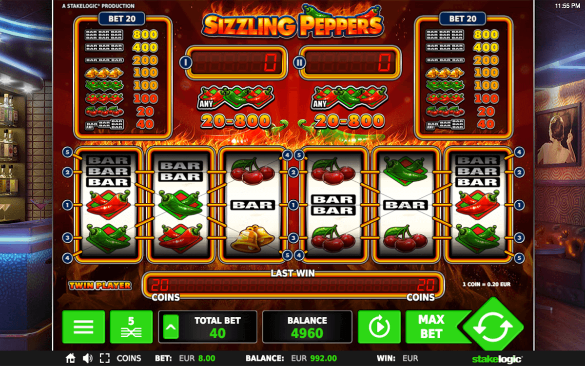 Sizzling Spins Slot - 28096