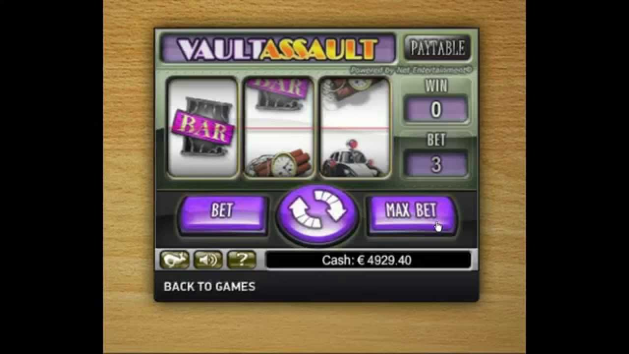 Vault Assault Slot - 37628