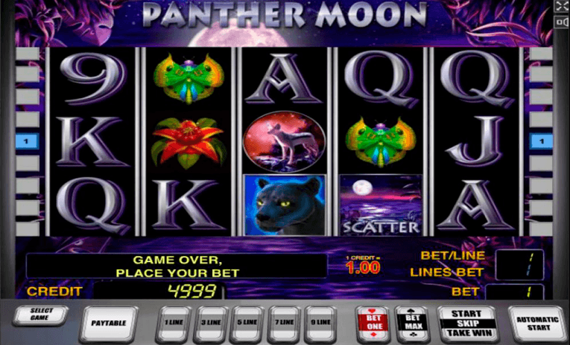 Panther Moon Slot - 56622