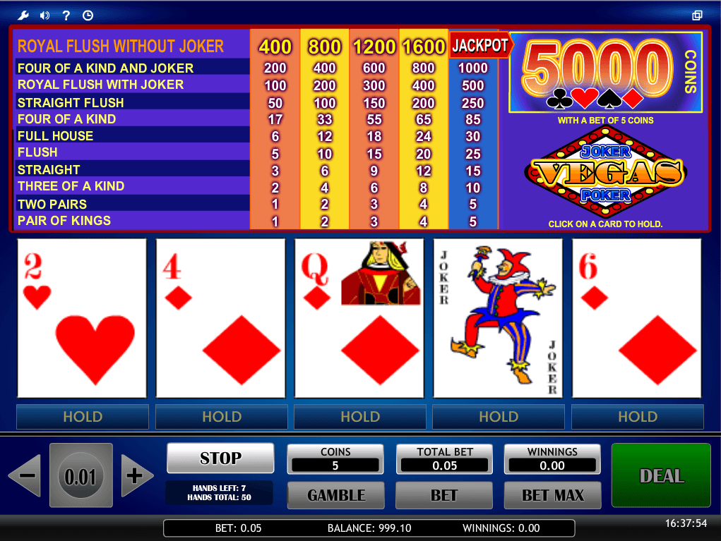 Royal Flush in - 39386
