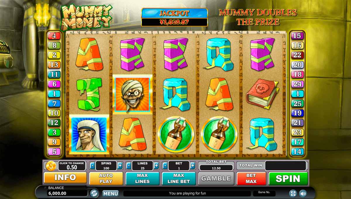 The Mummy Slot - 43742