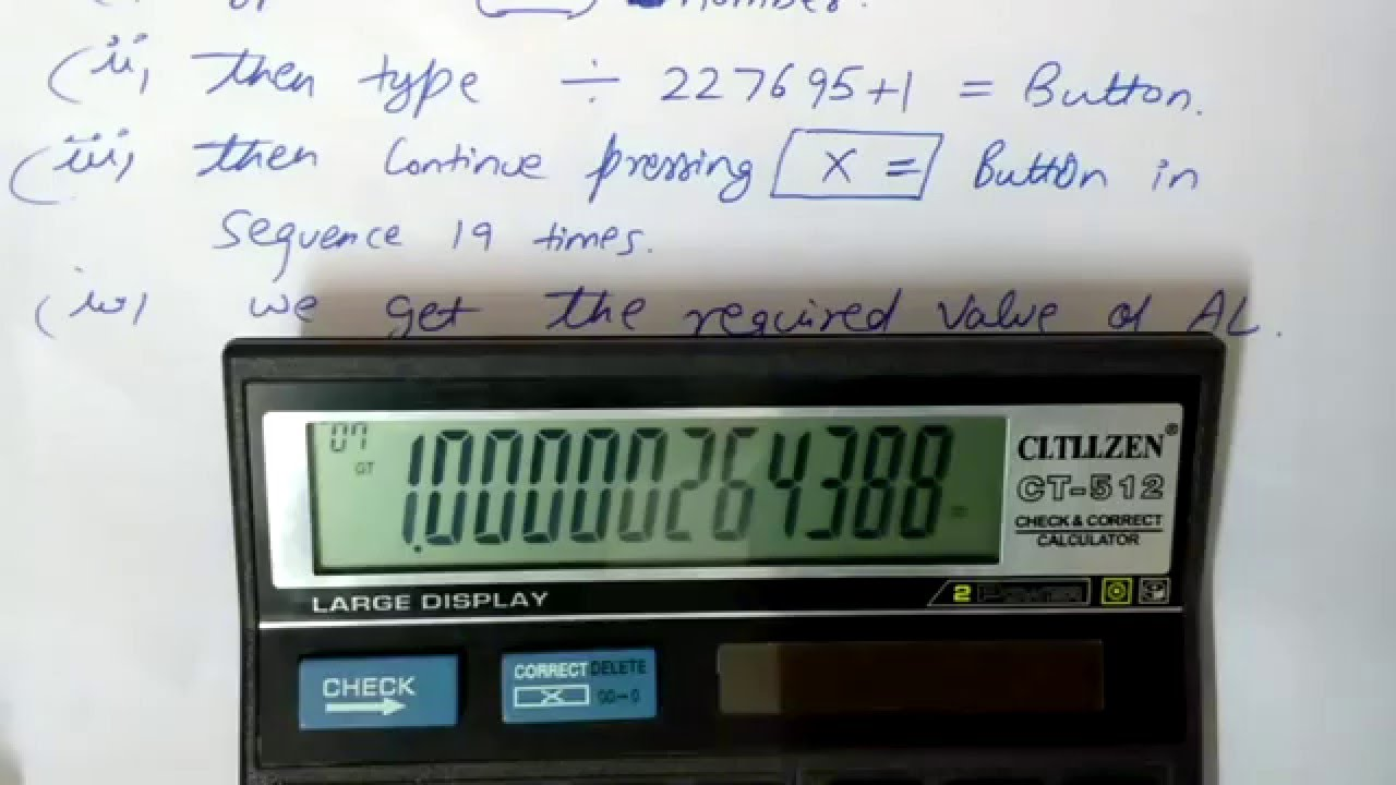 Value Calculations Simple - 90562